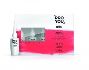 Revlon Pro You FIXER REPAIR BOOSTERS ampułki regenerujące 10x15ml